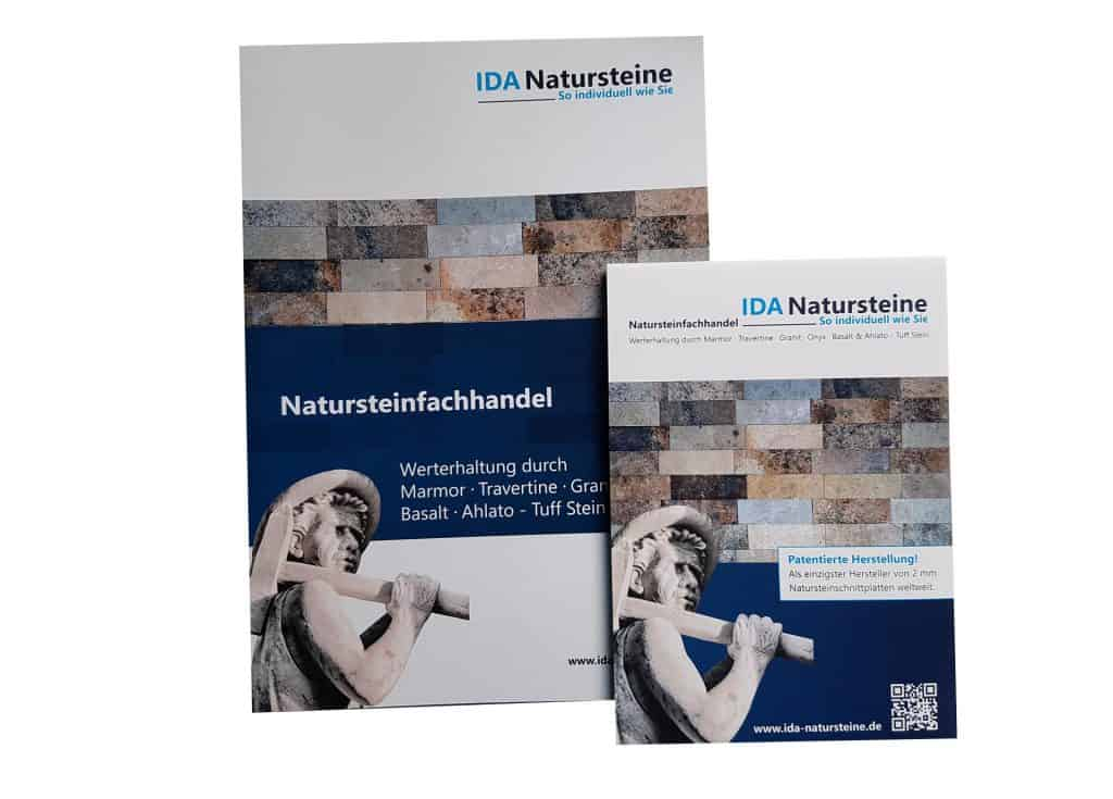 Werbeagentur defence - Image-Prospekt -Print-Produkt