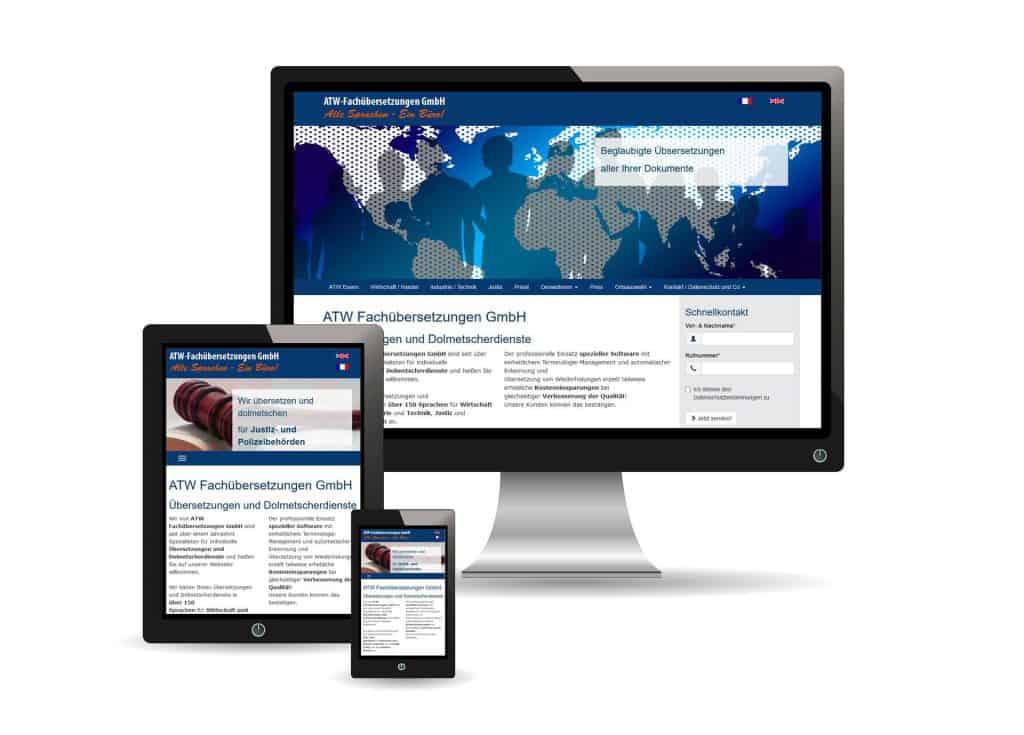 Werbeagentur defence - Webseitenerstellung ATW